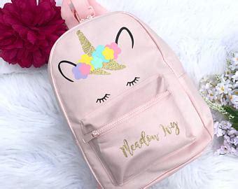 Tas Back Pack Emoji Q561t unicorn etsy es unicornios unicorns