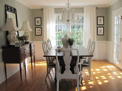 living room dining room paint ideas with chair rail