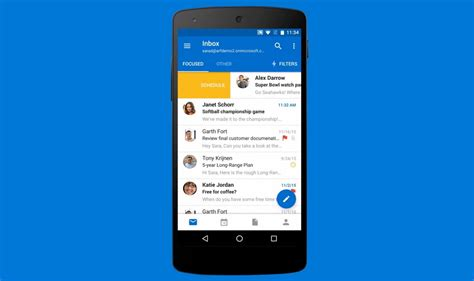 how to reset the outlook app when not working on android pureinfotech - Outlook Android App