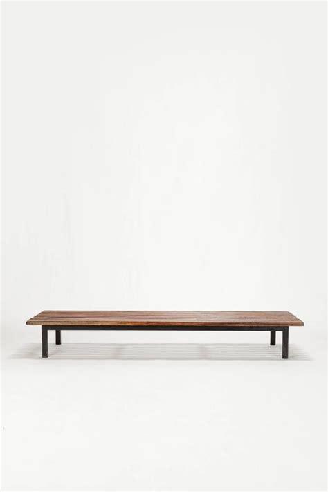 simon bench charlotte perriand cansado slat bench steph simon 1958 for sale at 1stdibs