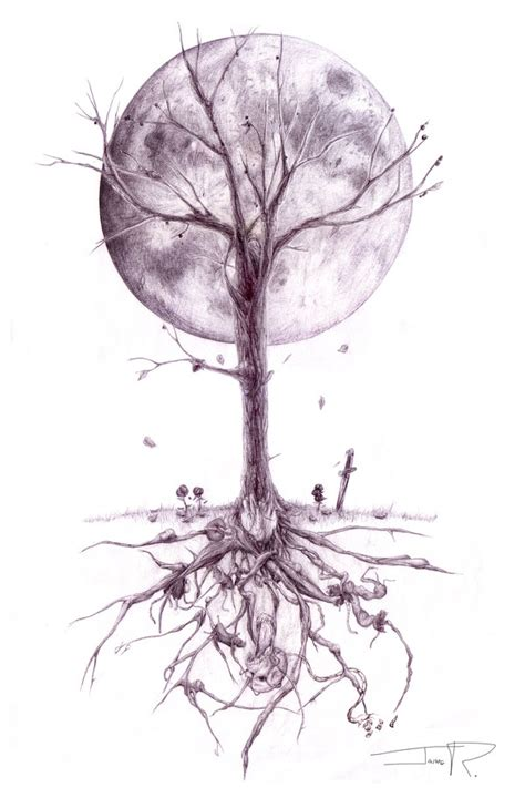 dead tree tattoo designs dead tree tattoos matt gdr07