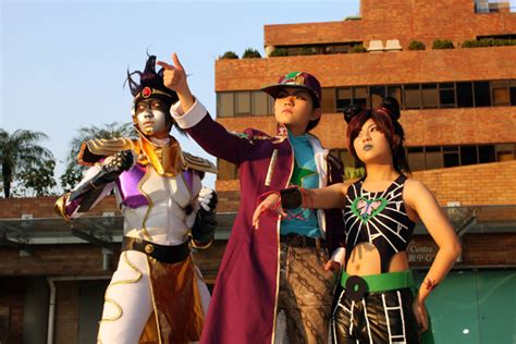 jojo part6 jotaro with others2 by minicooly on deviantart