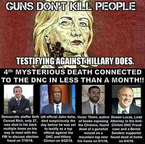 people that died this month 3 other people besides seth rich died within 2 months all