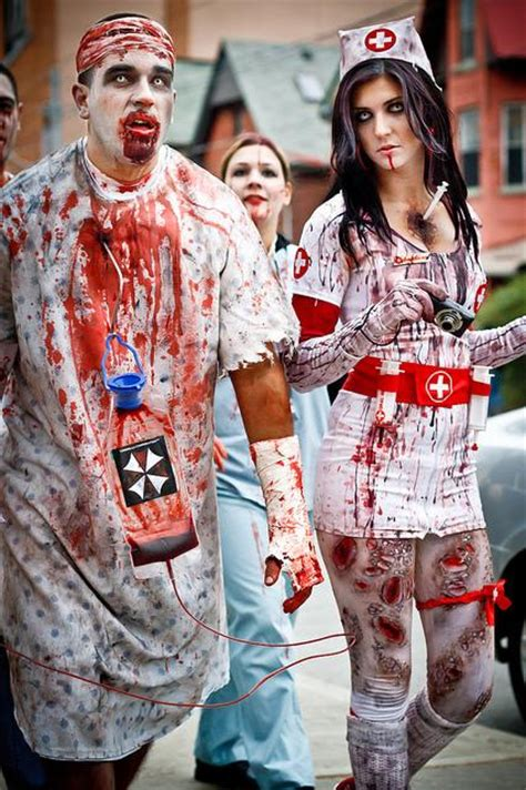 zombie doctor tutorial zombie nurse costume zombie costumes pinterest