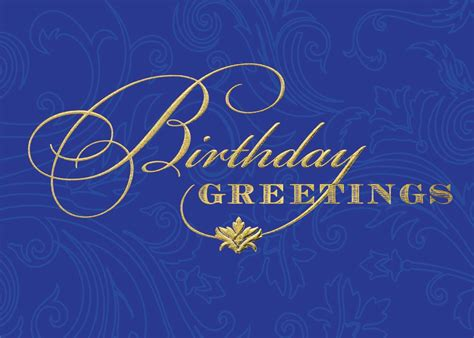 bright blue birthday greetings card birthday cards from