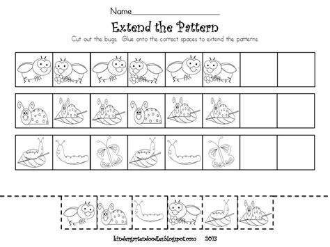 extend patterns worksheets for kindergarten extending patterns worksheets kindergarten here s a