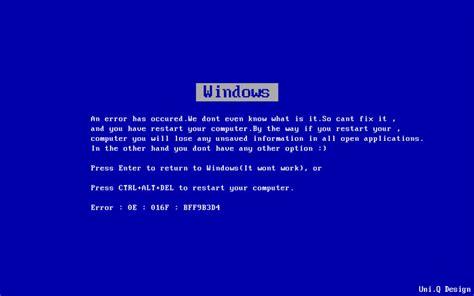 wallpaper blue screen of death uni q design blue screen of death wallpaper
