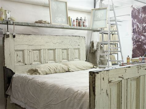 Vintage Wood Bed Frame Items Similar To Sized Reclaimed Wooden Door Bed Frame On Etsy