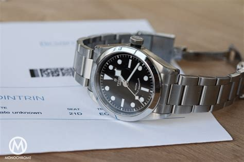 Tudor Heritage Black Bay 36 Ref. 79500   Review with Specs & Price