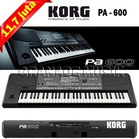 Tas Keyboard Korg By Granade Musik granade musik keyboard korg pa 600