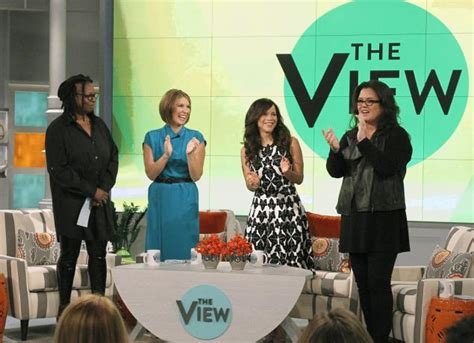 The new view lineup from left whoopi goldberg nicolle wallace