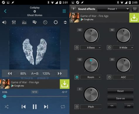 format jet audio best free android music players
