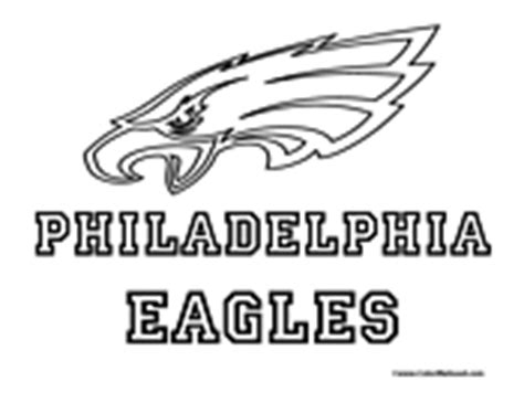nfl eagles coloring pages gallery