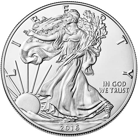 1 oz silver dollar 2016 1 oz american silver eagle bu enterprise bullion