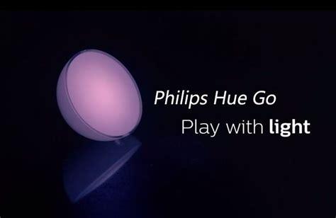 Lu Philips Hue Go philips hue go a portable smart light play3r