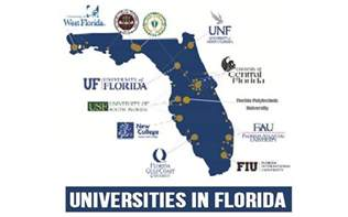 florida colleges map state universities are florida s academic success story