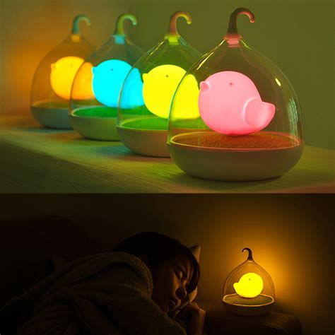 kids bedroom night light home led night l kids bedroom table lights birdcage