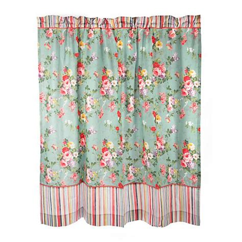 Mackenzie Childs Chelsea Garden Shower Curtain