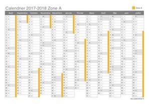 Cote D Ivoire Calendrier 2018 Vacances Scolaires 2017 2018 Zone A Calendrier Et Dates