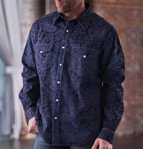 Rodnik Ludovico Jacquard Dress A Shirt Dress With A Difference by Michael S Ketchum Stretch Denim Jacquard Shirt