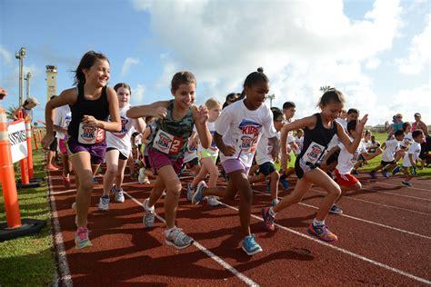 Run Run children show their speed during america s run gt andersen air base gt articles
