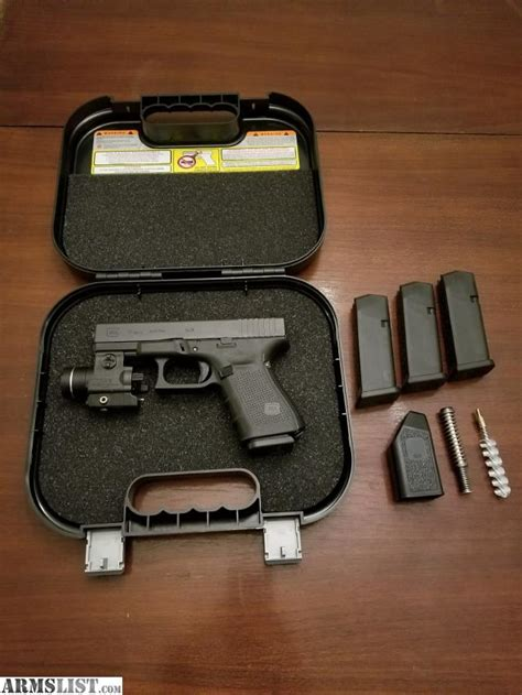 glock 19 light and laser armslist for sale glock 19 4 with laser light combo