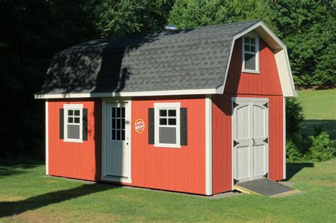 barn style roof tall gambrel barn style sheds