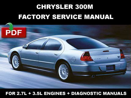 all car manuals free 1999 chrysler 300 parental controls purchase chrysler 300m 1999 2000 2001 2002 2003 2004 factory service repair fsm manual