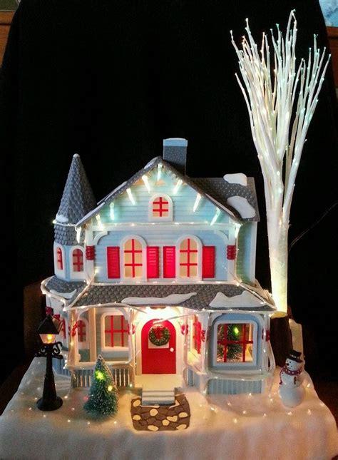 lighted avon houses 33 best fiber optic images on fiber lights and rope