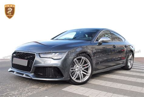 audi auto parts car auto parts front bumper bodykit for audi a7 rs7 auto