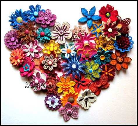 Paper Quilling Flowers - daydreams for my for quilled flowers