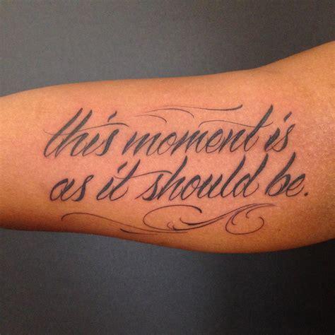 tattoo frequency instagram lettering this moment script fancy flourish justin turkus