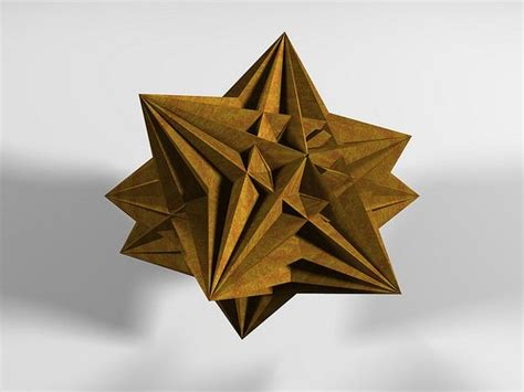 Origami 3d Shapes - origami 3d shapes through a mathematician s