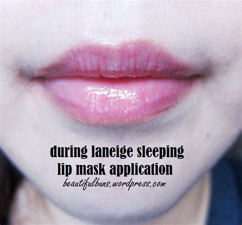 Laneige Lip Sleeping Mask exclusive review laneige lip sleeping mask