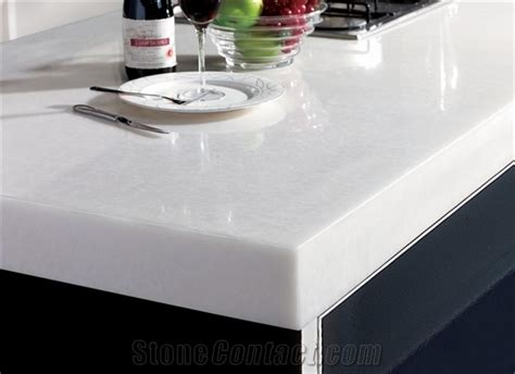 White Solid Surface Kitchen Countertops Kitchen Countertops A Concord Carpenter