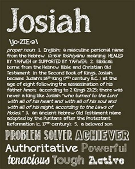 josiah baby boy name meaning and origin | oh baby! names