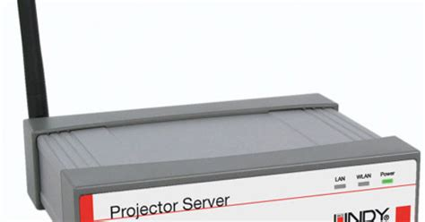 Wireless Projector Server lindy intros wireless vga projector server