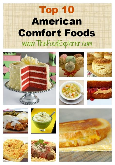 American Comfort Foods by Top 10 American Comfort Foods The Food Explorer