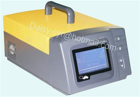 portable automotive emission analyzer exhaust gas tester