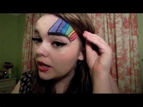 makeup tutorial queer gay pride rainbow tutorial niamh dillon mua youtube
