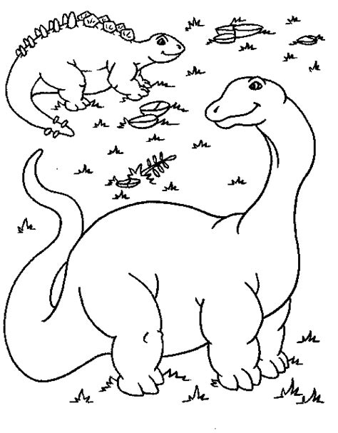 long neck dinosaur coloring pages coloring pages