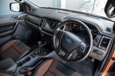 ford ranger 2017 interior 2017 ford ranger wildtrak review performancedrive