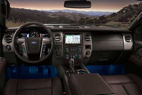 ford expedition interior 2016 2018 ford expedition spied new cars and trucks