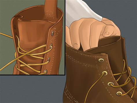 how to lace up bean boots how to tie bean boots 9 steps with pictures wikihow