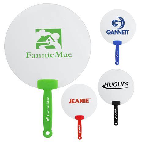 Custom Plastic Hand Fan. Promotional Plastic Handle