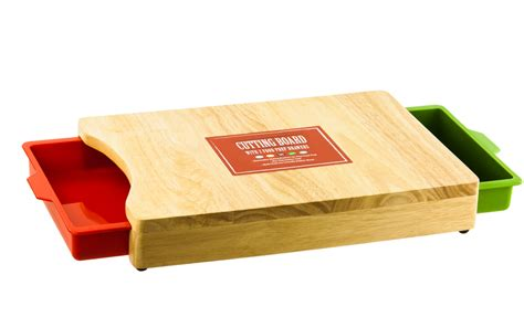 Cutting Board With Drawer by Kitchen Cutting Board Or Chopping Board W 2 Color Pull