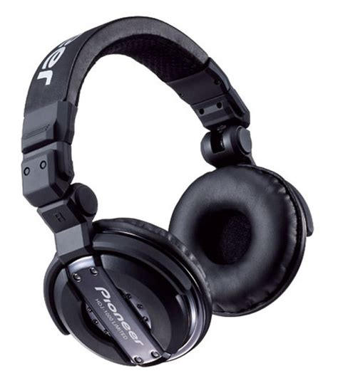 Headset Pioneer Hdj 1000 Pioneer Limited Edition Hdj 1000 Headphones For The Fashion Conscious Djs Extravaganzi