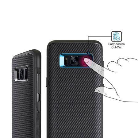 Obliq Shield Samsung Galaxy S8 Black obliq flex pro samsung galaxy s8 carbon black