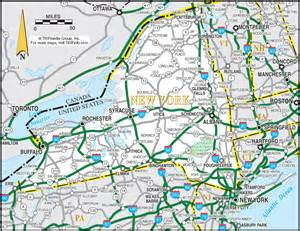 Map Of New York Highways by Pics Photos Road Map Of New York City