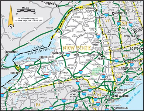 Search Ny State Ny State Road Map Search Engine At Search